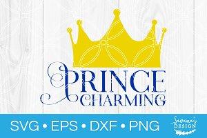 Prince Charming SVG
