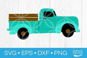 Vintage Truck SVG