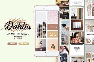 Dahlia Blogger Social Media Bundle