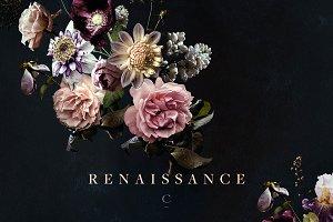 Vintage Floral Clip Art: Renaissance