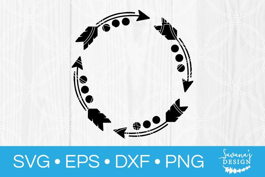 Lace Circle Monograms Svg Bundle Pre Designed Photoshop Graphics Creative Market