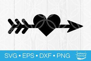 Heart Arrow SVG