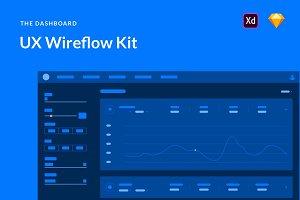 Dashboard UX Wireflows