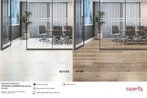 Floor Mockup Commercial Scene SM22