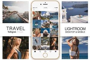 Travel Instagram Blogger Preset