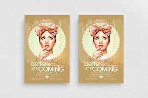 Better Things Are Coming Flyer