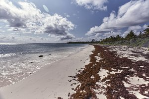 View of Xpu-Ha beach #2