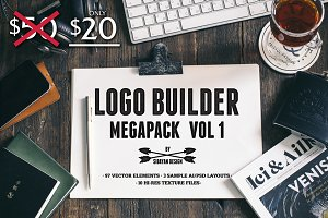 LOGO BUILDER MEGAPACK VOL. 1