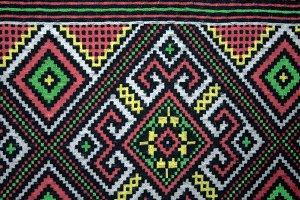 Ethniс Pattern Cloth Texture
