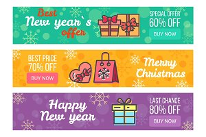 Three Sale Banners Best Prices
