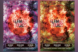 Ultimate Sounds Flyer