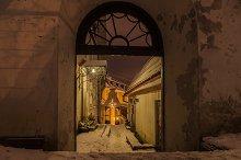 Old Town gate, Tallinn, Estonia