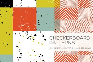 Checkerboard Seamless Patterns