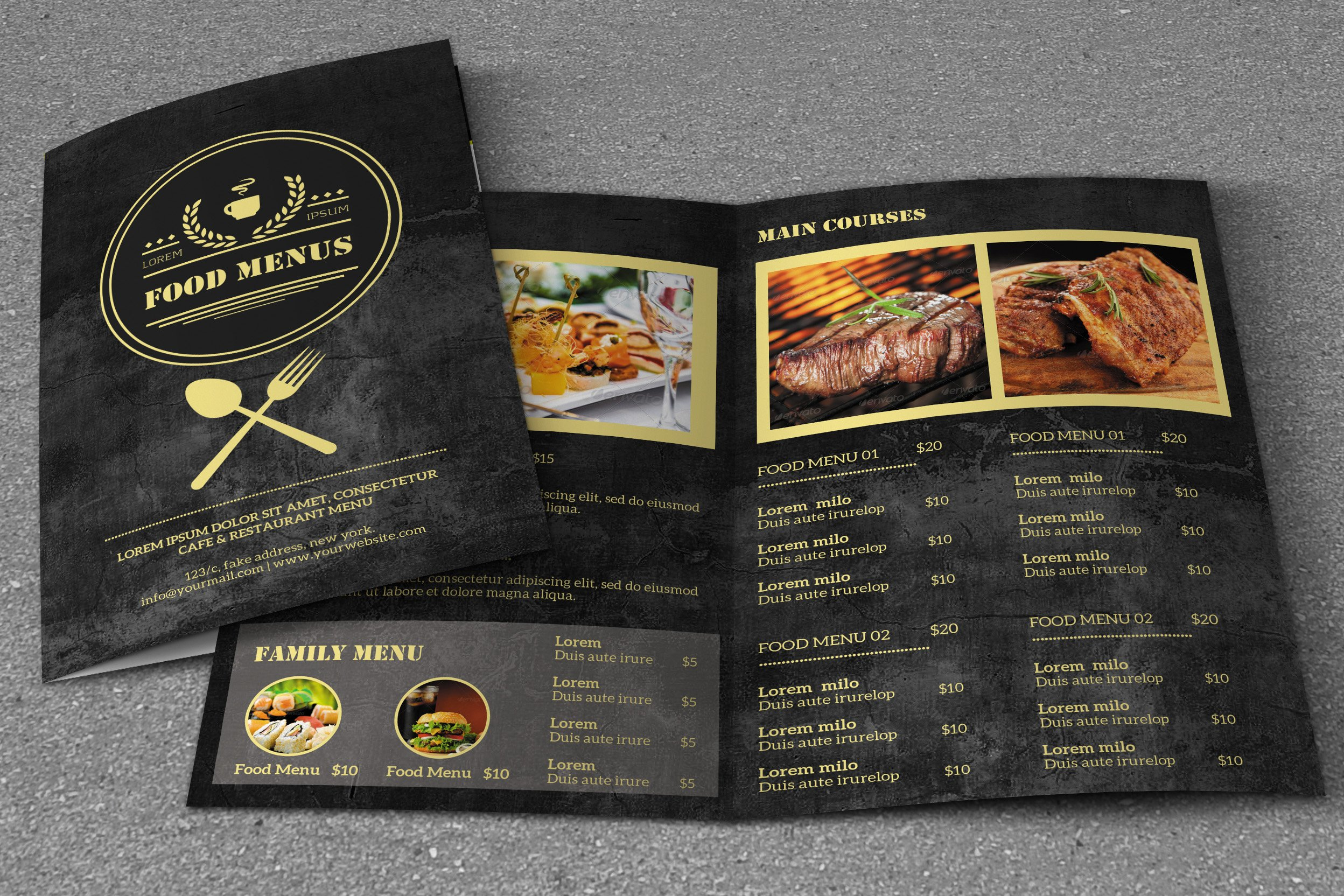 Takeaway Menu Design Software Free