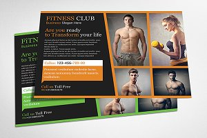 Sport & Fitness Flyer Templates
