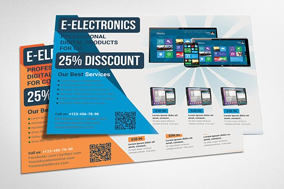 product promotion flyer templats flyer templates creative market