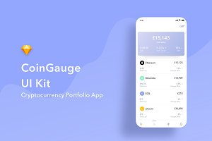 Cryptocurrency App UI Kit
