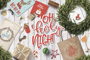 Christmas Lettering/Clipart