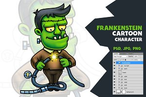 Frankenstein Cartoon Character
