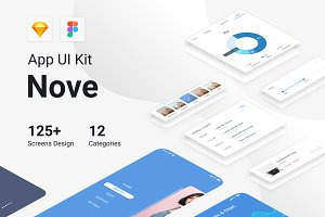 Nove Mobile UI Kit