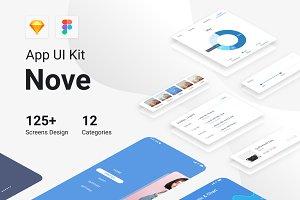 Nove Mobile UI Kit