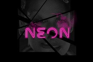 NEON | Display | 2 Styles 1 Font