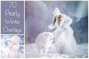 70 Pearly Winter Overlays