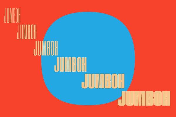 Sans Serif Fonts: Tyler Finck - JUMBOH