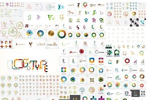 Huge collection of business logos