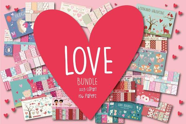 LOVE /Valentine bundle