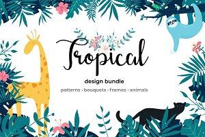 Tropical Design Graphics