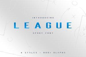 League Sport Typeface