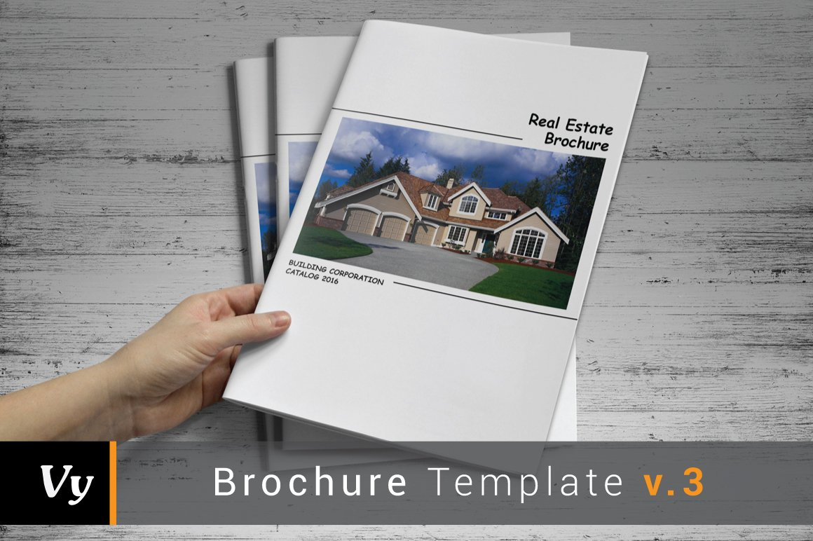 real estate prospectus template - real estate catalog template brochure templates