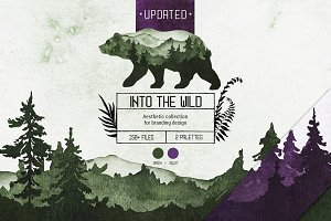 """""""Into the Wild"""" Branding Collection"""
