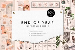 End of year Instagram bundle