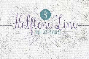 Halftone Overlays {Lines}