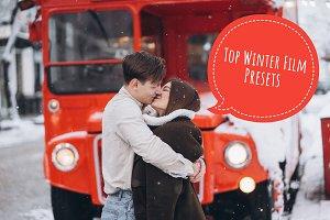 TOP10 Winter Film Lightroom Presets