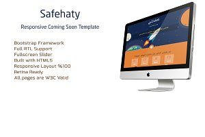 Safehaty - Coming Soon Template