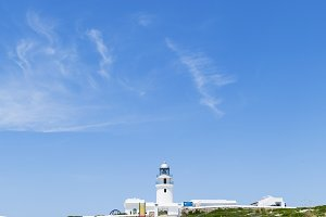 Menorca lighthouse