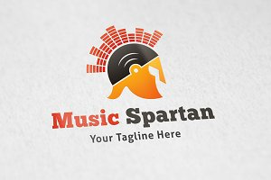 Music Spartan - Logo Template