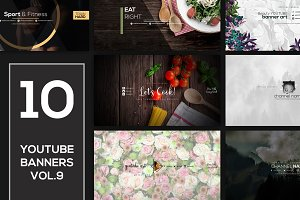 10 Youtube Channel Art Banners vol.9