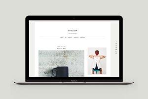 Blogger Template - New Ofyellow