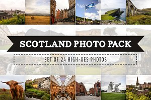 Scotland Photo Pack