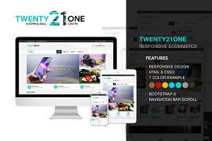 Twenty21One - Responsive E-Commerce
