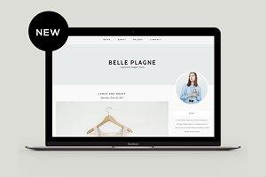 Responsive Blogger Template - Belle