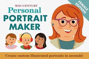 Personal Portrait Maker - FEMALE