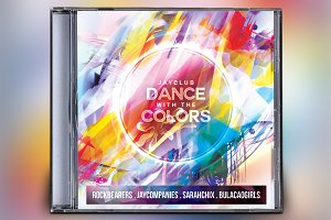Dance Party Colors CD Album Artwork