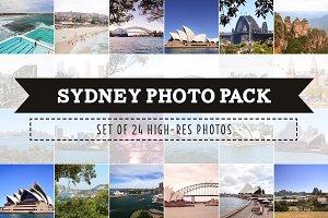 Sydney Australia Photo Pack