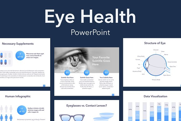 Eye Health Powerpoint Template Presentation Templates Creative