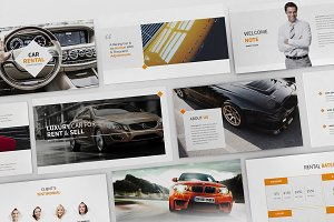 Cars Rental and Sell Powerpoint